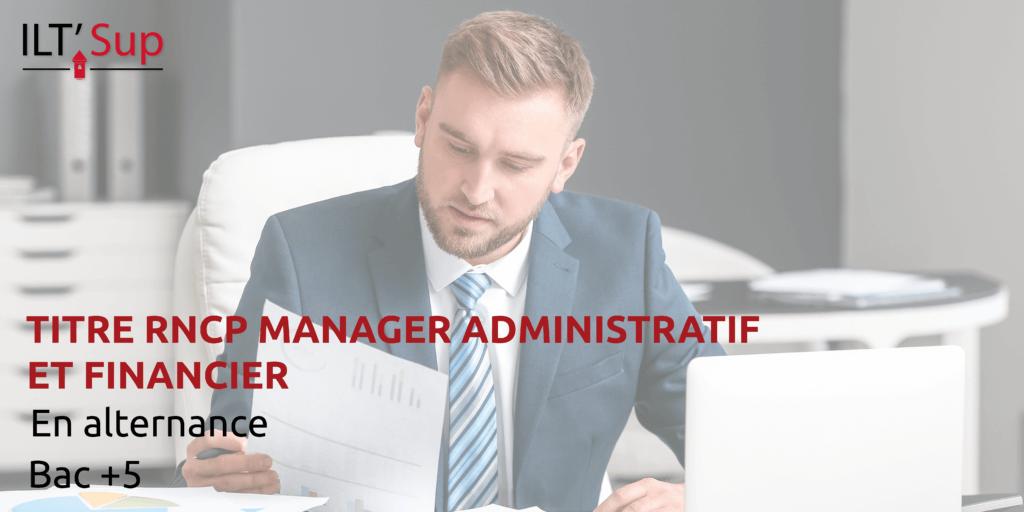 titre rncp manager administratif et financier tourelles alternance rouen
