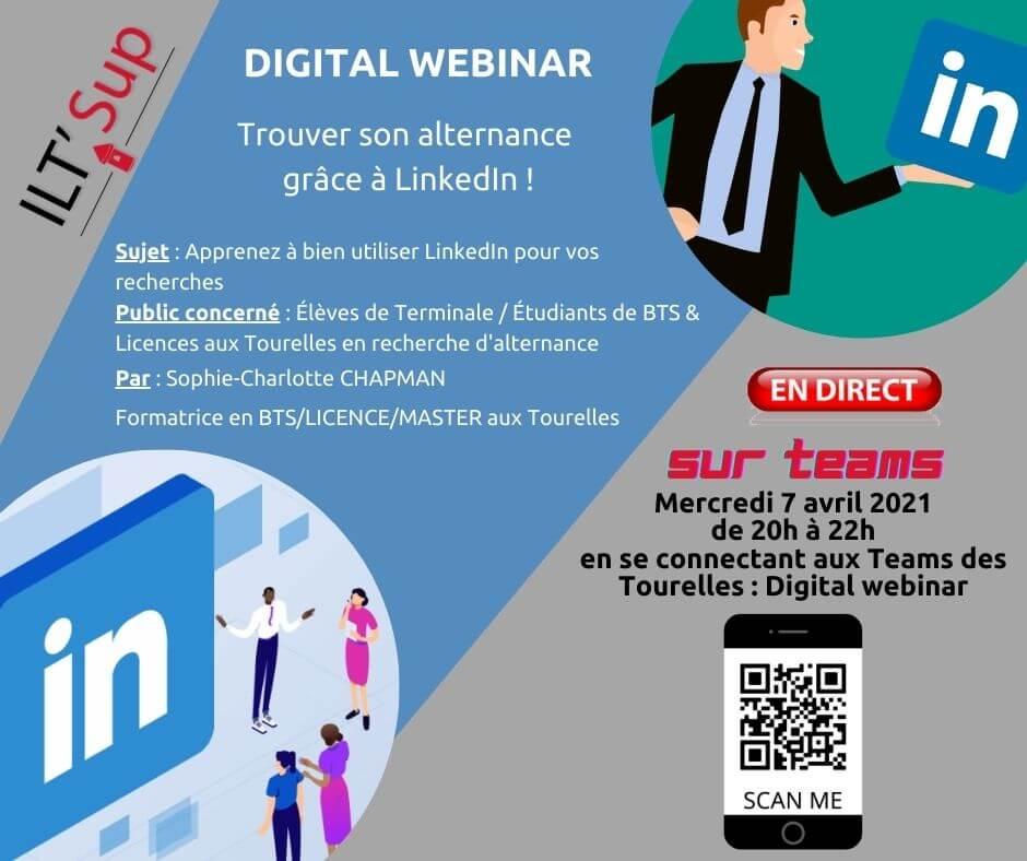 Digital Webinaire Linkedin